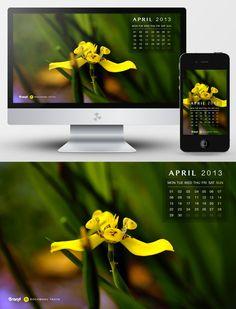 13 Wallpaper & Desktop Kalender April 2013 » Frisch Inspiriert