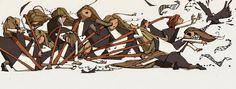 The Chase I | The Art of Nicholas McNally