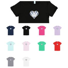 Bavarian Roundel Design Ladies Euro Car Shirts In Fine Jersey