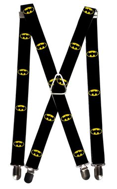 You can't go wrong with Batman suspenders. These are a really fun way to add a unique look to your outfit while comfortably keeping your pants in place.