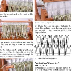 The arrival of my second heddle meant that I was free to try more complicated works on my rigid heddle loom including double weave. I hav. Tablet Weaving, Weaving Art, Weaving Patterns, Loom Weaving, Loom Knitting, Textile Art, World, Spinning, November