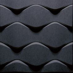 Sound absorbing wall tiles FLO Soundwave® Collection by Offecct | design Karim Rashid