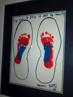 I made this last year with my 7 year old and 6 month old boys. First, I found paper that would fit my husband's shoe and then I traced his. Baby Crafts, Cute Crafts, Crafts For Kids, Daddy Valentine Gifts, Valentines, Mother And Father, Mother Gifts, Craft Gifts, Diy Gifts