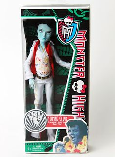 Monster High Zombie Elvis