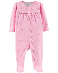 5c94de140b67 Baby Girl - Certified Organic Cotton Snap-Up Sleep   Play -  14.00 Baby Girl
