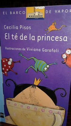 """Libro autografiado por Cecilia Pisos  """" El Té de la Princesa . June, Floors, Princesses"""