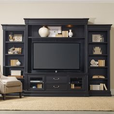 Hooker Furniture Clermont Four Piece Wall Group