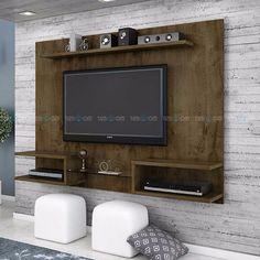 Uma sala de estar moderna e bem aconchegante precisará de um móvel diferenciado como o Painel TV 55 Polegadas Luna III, desenvolvido para oferecer total conforto e comodidade ao seu lar. Suporta TV de até 55 polegadas, possui prateleiras para deixar seus aparelhos eletrônicos e objetos de decoração bem organizados.