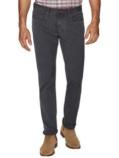 John Varvatos Star USA Bowery Cotton Slim Straight Jeans