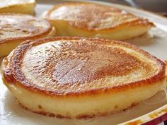 64 Ideas for breakfast recipes healthy quick lunches Quick Healthy Lunch, Healthy Breakfast Recipes, Sweet Desserts, Sweet Recipes, Czech Recipes, Tasty, Yummy Food, Breakfast Pancakes, Fluffy Pancakes