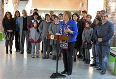 Consejo Escolar Extraordinario con la presidenta Michelle Bachelet en la Escuela José Martí
