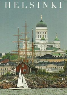 Helsinki, Finland, amazing place to see! Helsinki, The Places Youll Go, Places To See, Wonderful Places, Beautiful Places, Scandinavian Countries, Vintage Travel Posters, Beautiful World, Places To Travel