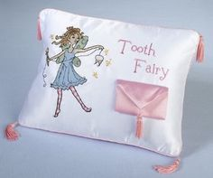 Amazon.com: Tooth Fairy Pillow with Pillow Pouch