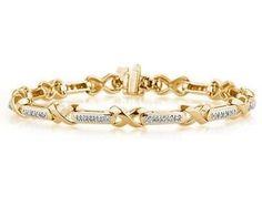 14kt Yellow Gold Diamond Bracelet Szul. $1749.00