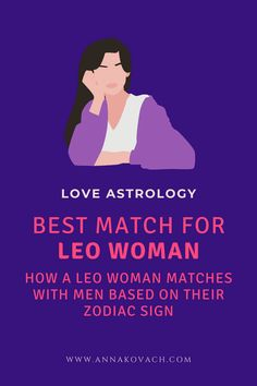 Are you a strong Leo woman who is looking for a man that will give you the love and adoration you seek? Here are some choices you may consider for finding the right match for yourself. #zodiac #sign #horoscope #astrology #love #relationship #dating #aries #taurus #gemini #cancer #leo #virgo #libra #scorpio #sagittarius #capricorn #aquarius #pisces #man #men #in_love #leo_woman #dating_leo #compatible #compatibility #match #attract_leo #leo_lady #guy Pisces Man, Sagittarius, Aquarius, Love Astrology, Leo Women, Love Compatibility, Zodiac Traits, Man Men, Horoscope