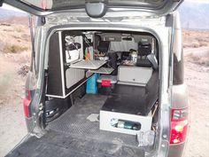 17 days in my Micro Camper - Honda Element Owners Club Forum