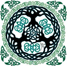 Tree of life images...love Celtic knotwork