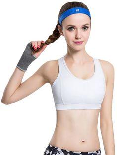 9964c3d196 Women s White Basic Sports Bra. Women s Sports BrasPush UpLatest ...