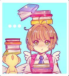 Cardcaptor Sakura, Syaoran, Sakura Kinomoto, Sakura Card Captors, Chibi, Manga Anime, Anime Art, Clear Card, Magic Cards