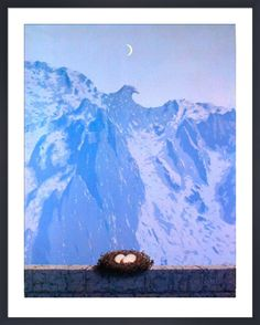 Le Domaine d'Arnheim Art Print by Rene Magritte at King & McGaw