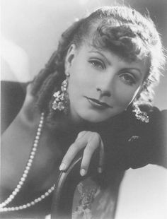 Portrait of Greta Garbo as Rita Cavallini in ROMANCE