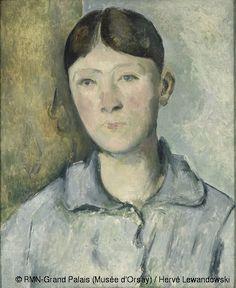 Retrato de la Señora Cézanne,1890. Museo de Orsay,Paris.