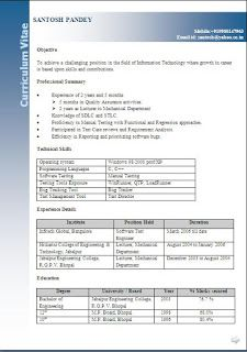 cv builder free download    Sample Template Example ofBeautiful Curriculum Vitae / Resume Format with Career Objective Job Profile & 2 YearsWork Experience For An IT Engineering Professional in Word / Doc / Pdf Free Download  Objective  To achieve a challenging position in the field of Information Technology where growth in career is based upon skills and contributions.  Professional Summary   Experience of 2 years and 5 months  Ø 5 months in Quality Assurance activities.   Ø 2 years as…