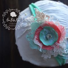 A personal favorite from my Etsy shop https://www.etsy.com/listing/263859447/willow-baby-collection-teal-peach