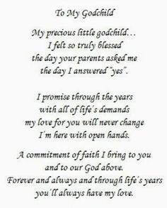 Goddaughter Quotes, Godchild Gift, Goddaughter Gifts, Godmother Quotes, Fairy Godmother, Daughter Of God, I Promise, Messages, Me Quotes