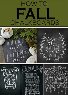 One of my favorite things to decorate each season is my chalkboards. The chalkboard trend started years ago and I dont see it going away anytime soon. Check out these fall chalkboard doodles for your home. Fall Chalkboard Art, Chalkboard Doodles, Chalkboard Ideas, Baby Food Containers, Doodle Designs, Paint Cans, Autumn Home, Simple House, Fall Halloween