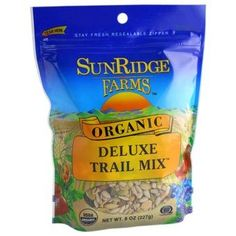 Organic Deluxe Trail Mix 8oz - Oh My Green!