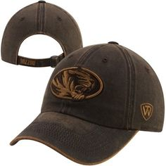 Top of the World Missouri Tigers Scat Adjustable Hat - Brown