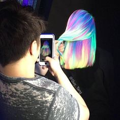 Picture in Picture by Guy Tang @kenra Neons