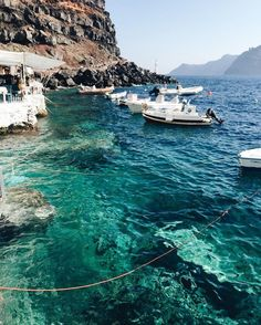 Finding The Perfect Beach Vacations Pictures of Santorini That Will Make You Want to Travel - PureWow Dream Vacations, Vacation Spots, Beach Vacations, Romantic Vacations, Italy Vacation, Romantic Travel, Photos Voyages, Greece Travel, Santorini Travel
