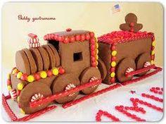 GINGERBREAD HOUSE~Gingerbread train.