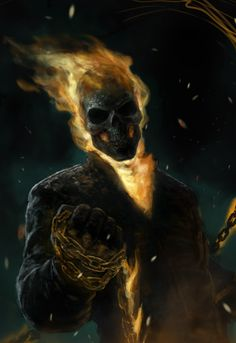 Ghost Rider art,very awesome. Ghost Rider art,very awesome. Comic Book Characters, Marvel Characters, Comic Character, Comic Books Art, Comic Art, Marvel Fanart, Marvel Comics Art, Marvel Heroes, Captain Marvel