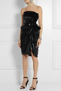 This sort of looks like an expensive trash bag but I sort of love it. Lanvin