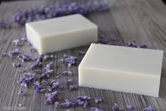 DIY Lavender Essential Oil Lotion Bars