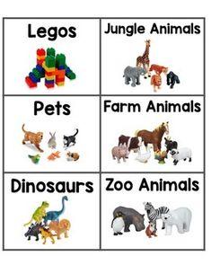 Free Printable Labels Toy Storage Organized Toys