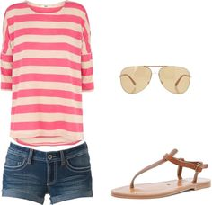 """""""Summer outfit"""" by chelder on Polyvore"""