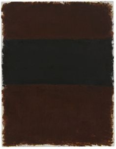 """Mark Rothko, Untitled, 1968, acrylic on paper mounted on board 84.5 by 65.6cm.; 33 ¼ by 25 ¾ in. """""""