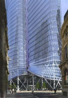 Bishopsgate Tower, London by Kohn Pedersen Fox Architects