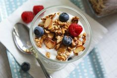Olive Oil Granola, a fun way to get in some healthy fats. #vegan