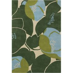 This rug from Amy Butler is a great way to bring bold pattern into a room.