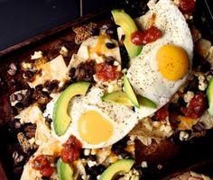 Breakfast Nachos. Joy the Baker is brilliant... (Joy the Baker, July 2012)