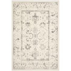 Safavieh Porcello Ivory / Light Grey Oriental Rug