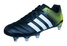 201c26f51 eBay  Sponsored adidas Adipower Kakari 3.0 SG Mens Black Rugby Cleats Boots  Grass Studs Rugby