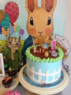 Cake at a Peter Rabbit Cake Pops #peterrabbit #cake
