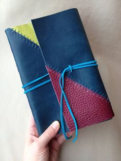I likeylike. ~ Patchwork Leather Field Journal Unlined