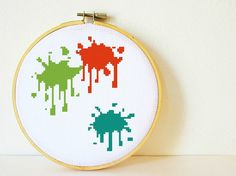 Counted Cross stitch Pattern PDF Instant by CharlotteAlexander, $4.50